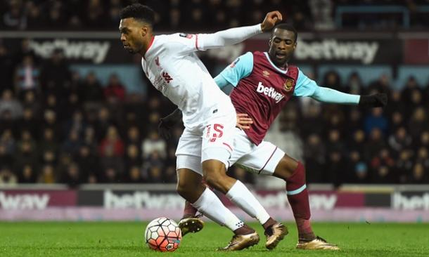 Sturridge made his long awaited return from injury (photo: Getty Images)