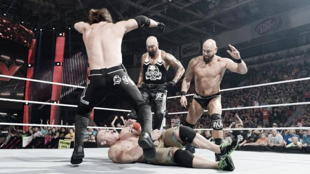 What role will Gallows and Anderson play in this feud? (Photo: wwe.com)