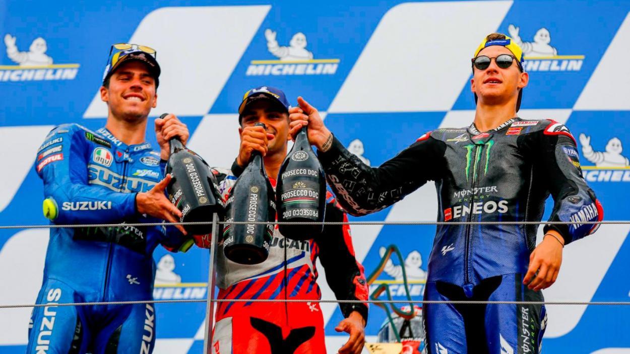 Podio en el GP de Estiria / MotoGP.com