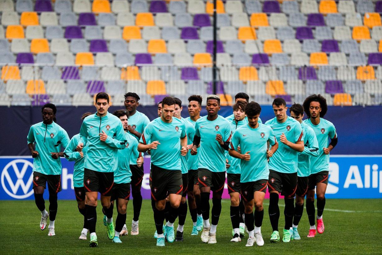 Selección Sub 21 de Portugal / Foto: Portugal