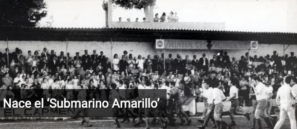 Celebrando el ascenso a Segunda y coincidencia con el Submarino Amarillo de los Beatles. fuente: villarrealcf.es