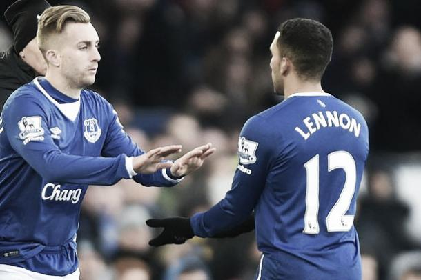 Gerard Deulofeu replaced Aaron Lennon in the 74th minute but failed to make an impact. | Image: Liverpool Echo