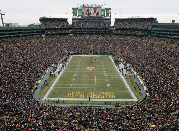 Lambeau Field en un enfrentamiento entre Packers y Seahawks. Fuente. NFL