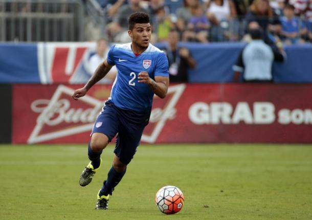Yedlin has been away with the USA during the break. (Photo: Sports Illustrated)