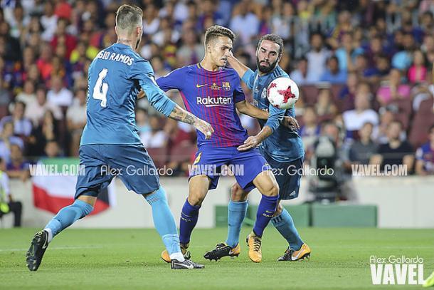El Real Madrid dejó casi sentenciada la Supercopa de España tras el partido en el Camp Nou   Foto: Alex Gallardo (VAVEL).