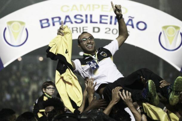 Surian foi campeão invicto da Série D pelo Volta Redonda | Foto: Lucas Figueiredo/CBF