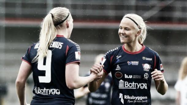 Linköping's deadly duo. (Photo: Svenskfootball)