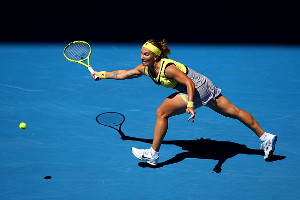 Kuznetsova struggled to get going in the match (Photo by Clive Brunskill / Getty Images)