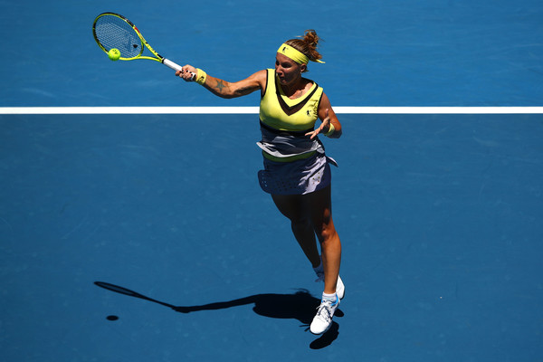 Kuznetsova will be hoping to go deep in Melbourne (Photo by Cameron Spencer / Getty Images)