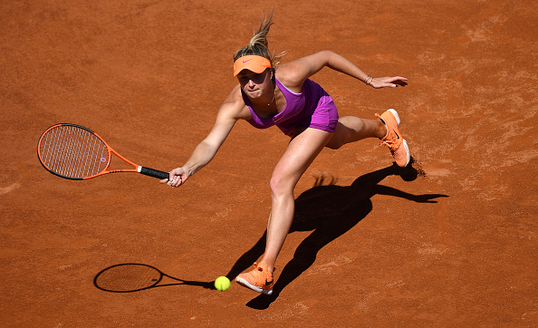 Svtiolina continues her good run of form heading into the French Open with two titles on clay (Photo by Gareth Copley / Getty)