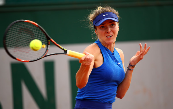 Svitolina in her second round match against Taylor Townsend on Day 5 of the French Open (Getty Images/Clive Brunskill)
