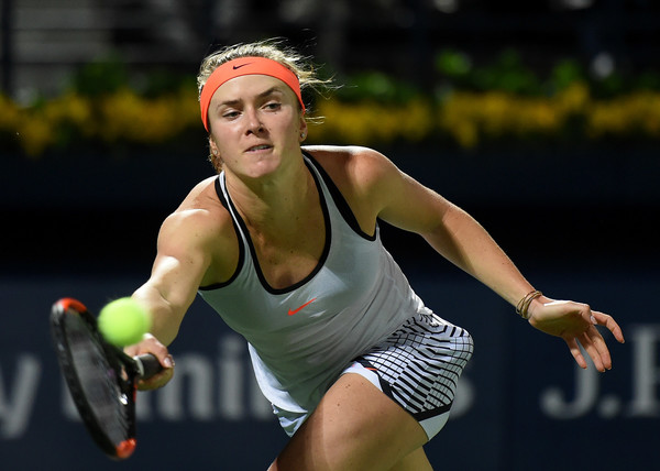 Svitolina will be hoping to win her sixth title in Dubai (Photo by Tom Dulat / Getty Images)
