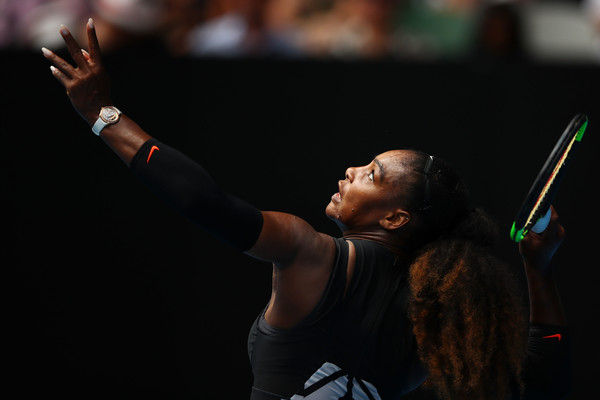 Williams will need a good serving day to beat Konta (Photo by Clive Brunskill / Getty Images)
