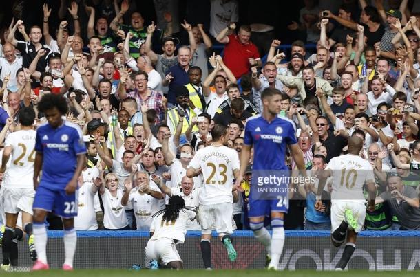 Chelsea drew the first match of the 2015/16 season with Swansea City | Photo: Getty/ Ian Kington