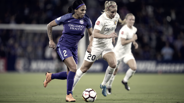 Sydney Leroux will need to step-up in Alex Morgan's absence (Photo via nwslsoccer.com)
