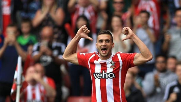 Tadic celebrates | Photo: thepfa.com