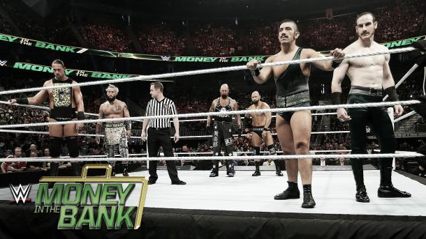 It was fast paced tag action to start the show. Photo- Youtube