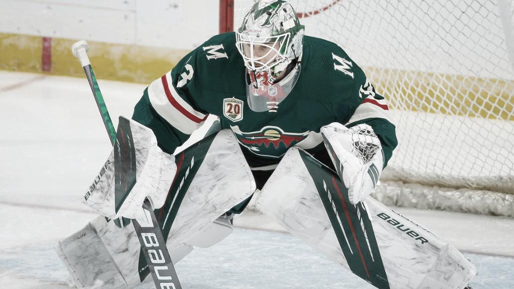 Cam Talbot convierte en un fortín la portería de los Wild   Foto: NHL.com