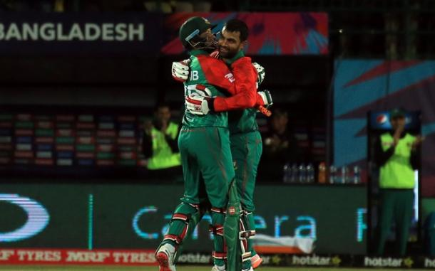 Tamim celebrates getting to a century against Oman | Photo: Getty Images