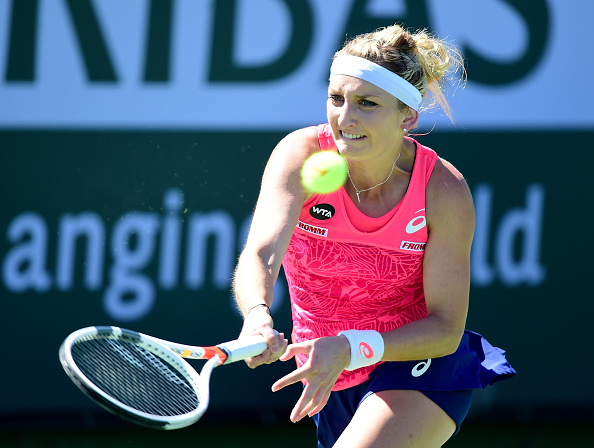 Bacsinszky is searching for her second BNP Paribas Open quarterfinal berth in three years (Photo by Harry How / Getty Images)