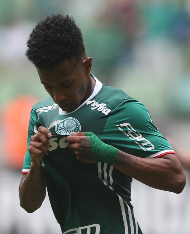 Tchê Tchê um dos principais jogadores da equipe (Foto: Cesar Greco/Ag Palmeiras/Divulgação)