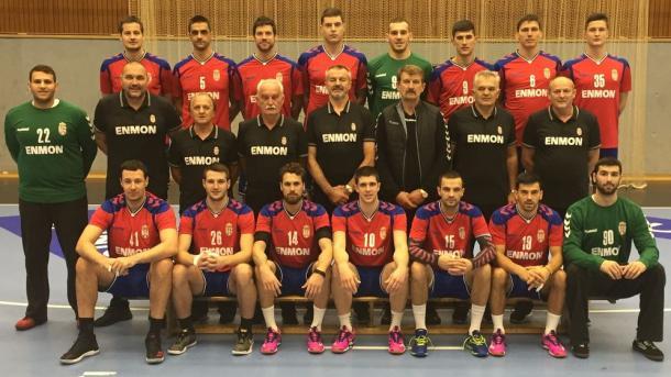 Selección Serbia. Foto: EHF.