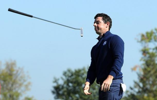 McIlory's frustrations summed up the Team Europe mood (photo: The Guardian)