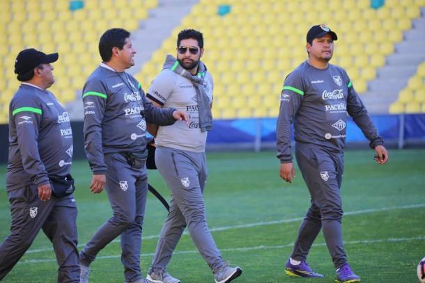 Divulgação/Federação Boliviana de Futebol
