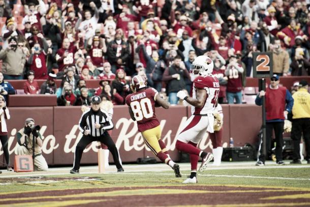 Jamison Crowder es la principal arma aérea de los Redskins | Foto: Redskins.com