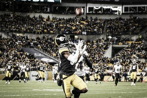 Brown ha sido crucial en partidos muy importantes como contra los Ravens | Foto: Steelers.com