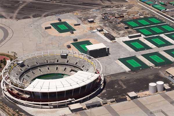 Centro Olímpico de Tênis/ Foto: COB/ Divulgação