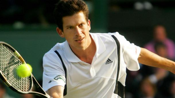 Tim Henman en Wimbledon. Foto: wimbledon.com