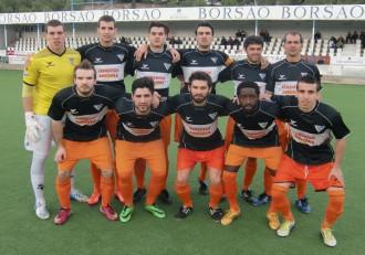 Andorra en partido contra el Ebro (Tercera División 14/15)