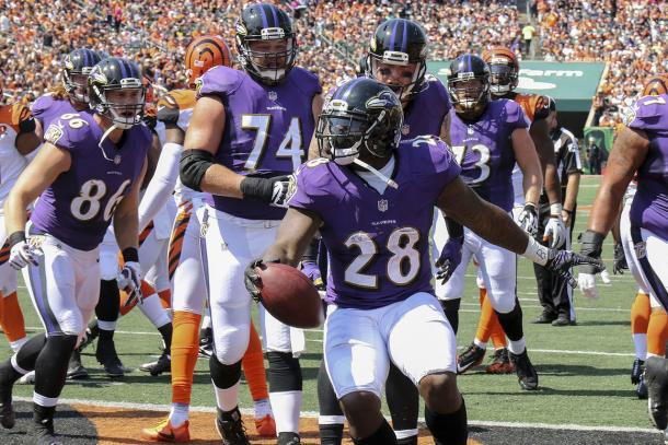 Terrance West. Fonte Immagine: NFL.com