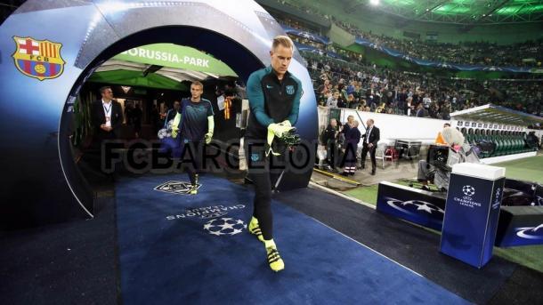 Partida na Alemanha foi marcante para Ter Stegen (Foto: Miguel Ruiz/ FC Barcelona)