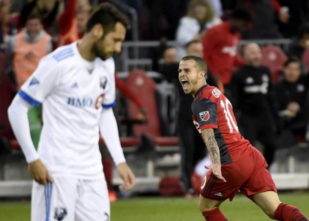 Giovinco turned in a game-winning performance against Montreal | Source: Nathan Denette-Canadian Press
