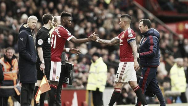 Fosu-Mensah made his United debut against Arsenal in February | Photo: Reuters