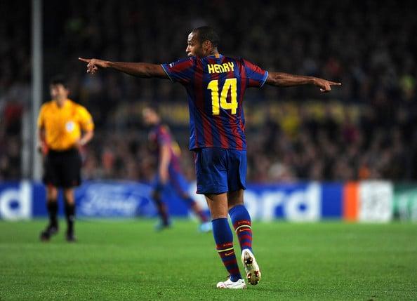 Henry conquistou várias coisas no Barça | Foto: Getty Images