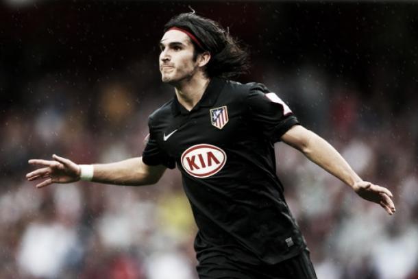 Pacheco na época de Atléti | Foto: Phil Cole/Getty Images