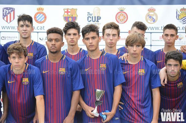 Cuarto puesto para el FC Barcelona   |   FOTO: Noelia Déniz