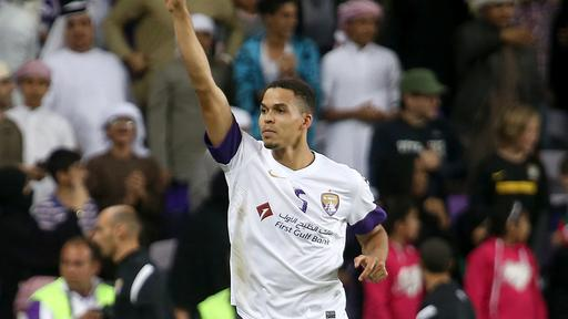 Ismail Ahmed, capitán de Al Ain. Foto: The National.