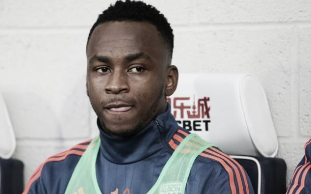 Berahino was left out of the West Brom starting XI at the beginning of last season because of transfer speculation. Photo: The Telegraph
