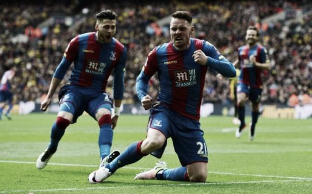 The South London side beat Watford in their Semi-Final, with Striker Connor Wickham scoring the winner. Photo: the Telegraph