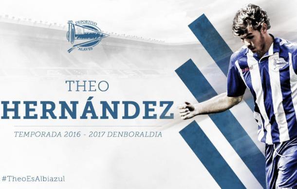 Theo Hernández. Foto: Alavés