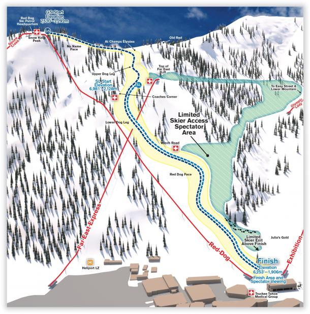 Squaw Valley race venue | Photo: Ski Racing