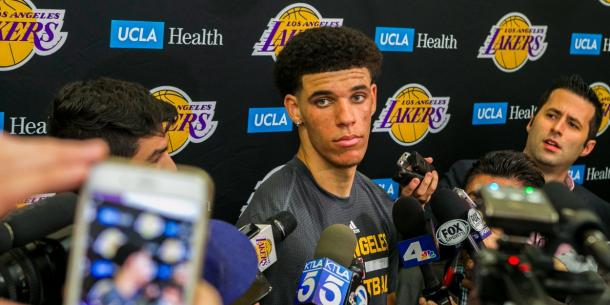 Will we see Lonzo Ball at Los Angeles Lakers? l Credit: Business Insider