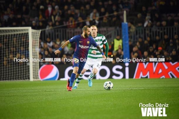Barça até tentou, mas não furou bloqueio português na primeira etapa