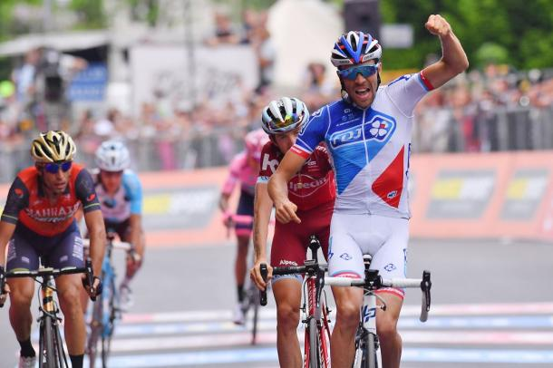 Victoria de Thibaut Pinot en la 20ª etapa del Giro | Fotografía: Giro de Italia