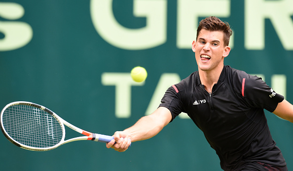 Thiem continues his fine form of the past few weeks (Photo: Getty Images/Carmen Jaspersen)