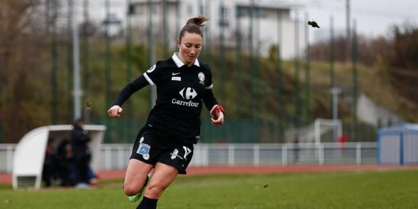 Gaëtane Thiney está no clube desde 2008 e é a atual capitã. (FOTO: sport.francetvinfo.fr)